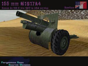 155 mm M1917A4