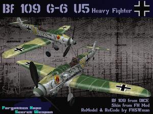 BF109G6U5