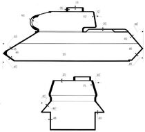 T34-85 armour