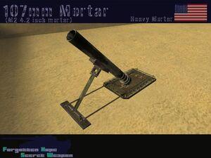 107mm Mortier