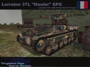 Lorraine 37L Hauler spg