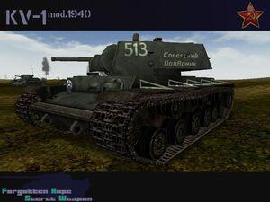 KV-1 mod 1940