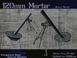 120mm Mortar