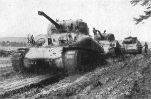 Sherman M4A1 luxemburg