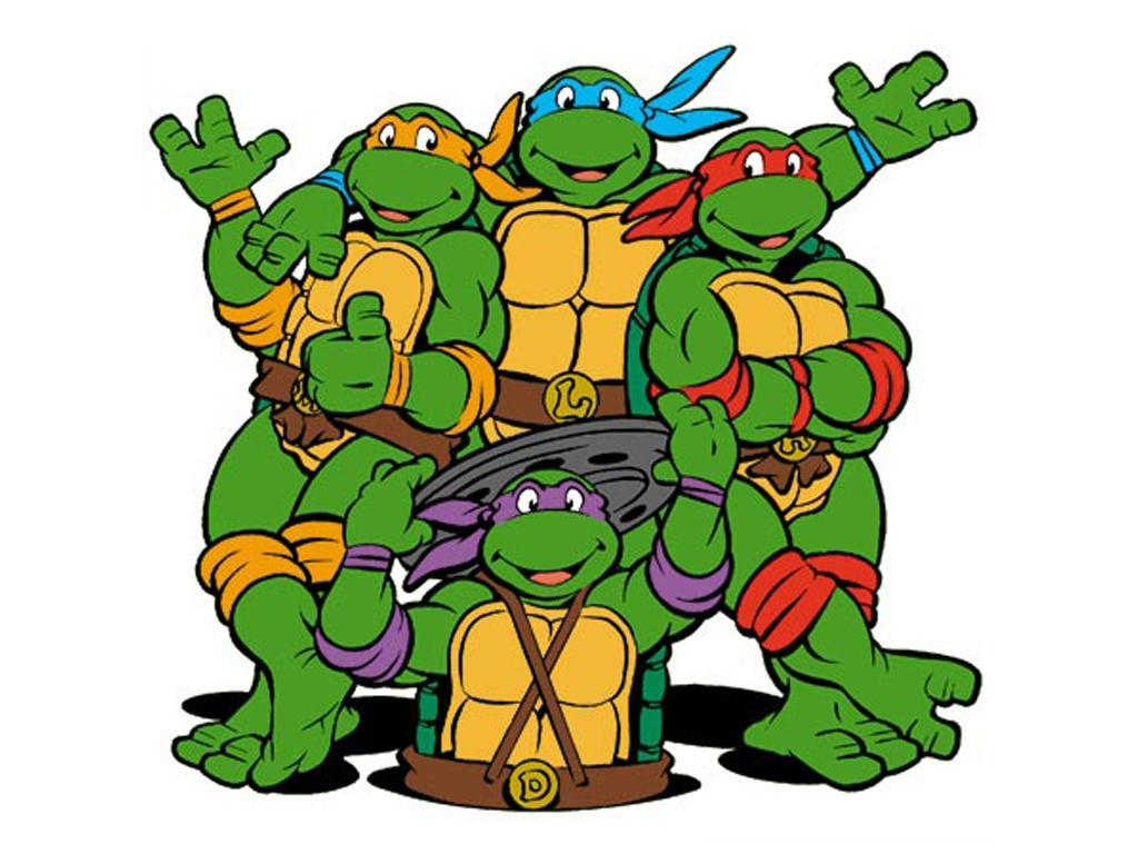 The turtles Leonardo  blue    Ninja Turtles
