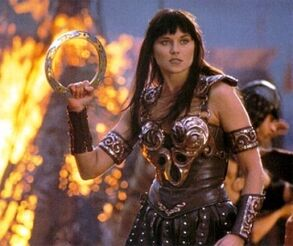 A Xena warrior princess