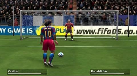 Penalty Kicks from FIFA 94 to 17
