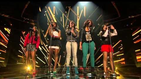 """Fifth Harmony """"Skyscraper"""" - Live Week 1 (Sing-Off) - The X Factor USA 2012"""