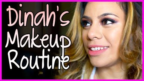 Dinah's MakeUp Routine - Fifth Harmony Takeover Ep