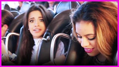 Fifth Harmony has a BLAST on the Roller Coaster Ride - Fifth Harmony Takeover!