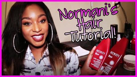 Normani's Hair Tutorial and History - Fifth Harmony Takeover