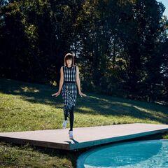 Dakota in <i>Vogue</i> magazine, February 2017.