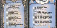 Checklist 77-109 (BattleCard)