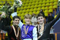 2008 EC Men's Podium