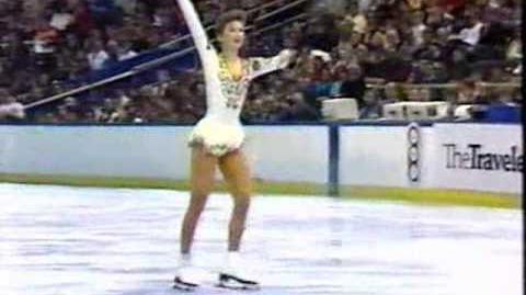 Caryn Kadavy 1986 US Nationals