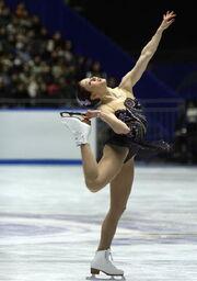 Laura Lepistö Spin 2008 NHK Trophy