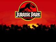 Jurassic park sunset 2 by dskorn