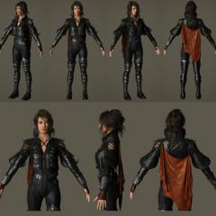 Character model.