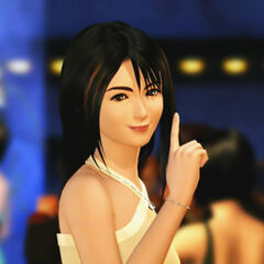 Rinoa using her trademark expression of request.