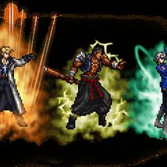 Ultimate++ Seifer, Fujin, & Raijin.