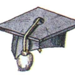Scholar Hat.