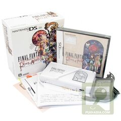 <i>Final Fantasy Crystal Chronicles: Ring of Fates</i> special edition DS.