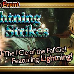 Lightning Strikes's global event banner.