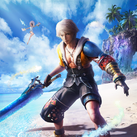 Tidus outfit.