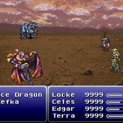 Ice Dragon, Kefka
