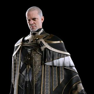 A full-body, CG render of Clarus.