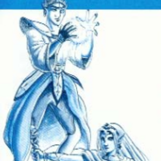 <i>Final Fantasy Legend II</i> Male and Female Mutant US Artwork.