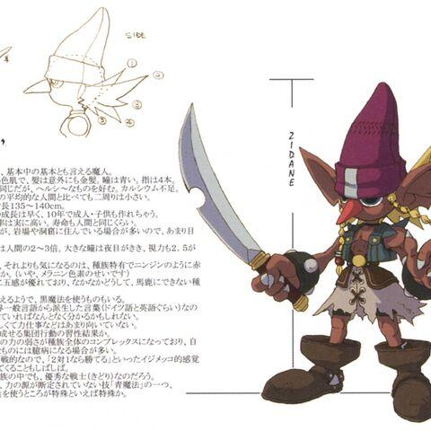 Full, smaller version of Goblin concept artwork.