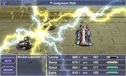 Judgment Bolt FFV
