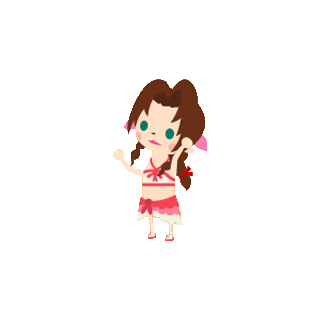 Seaside Aerith.