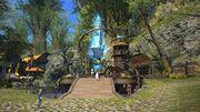 New Gridania Aetheryte Plaza