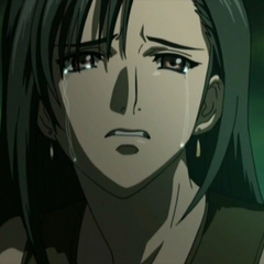 Tifa after losing her father in <i><a href=
