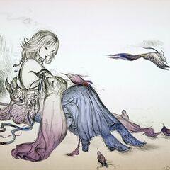 Artwork, Yoshitaka Amano.