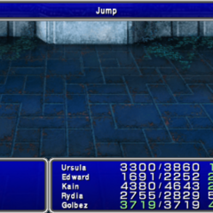 Jump used by Gilgamesh in <i><a href=