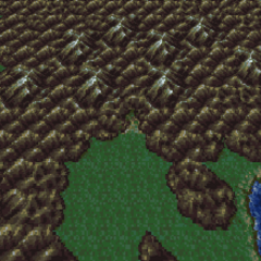Narshe in the World of Balance (SNES).