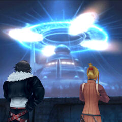 Quistis attempts to find counsel from Squall.