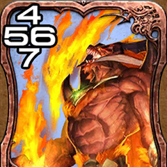 Ifrit from <i>Final Fantasy Explorers</i>.
