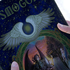 A king on the cover of <i>Cosmogony</i>.