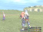 FFX Attack Tidus