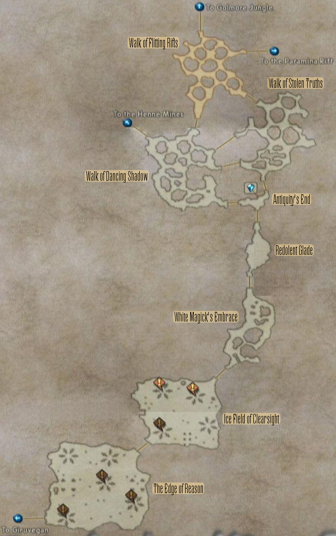 FF12 Map - Feywood