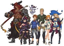 FFLSTLC Characters