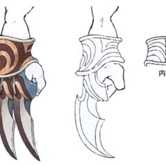 Concept artwork for the Tiger Fangs.