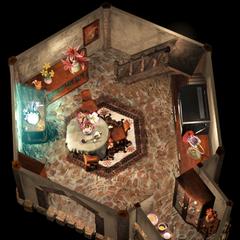 Aeris's House 1F.