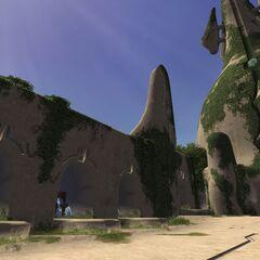 Alcoves found in the Ru'Aun Gardens.