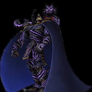 Golbez fused with Shadow Dragon from <i>Dissidia Final Fantasy</i>.