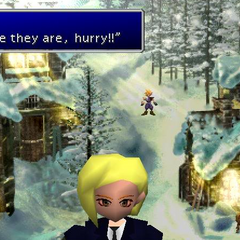 Elena in <i>Final Fantasy VII</i>.